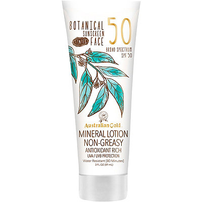 Australian GoldBotanical SPF 50 Tinted Face Lotion