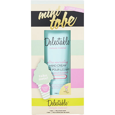Delectable Online Only Mint to Be Hand Cream