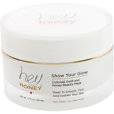Hey Honey Online Only Show Your Glow Gold Mask