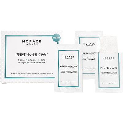 Nuface Online Only Prep-N-Glow Cloths