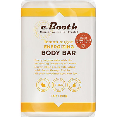 C. BoothLemon Sugar Energizing Body Bar