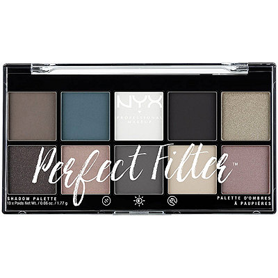 NYX Professional Makeup Gloomy Days Perfect Filter Shadow Palette