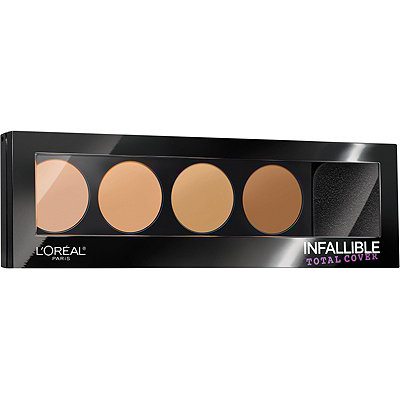 L'OréalInfallible Total Cover Concealing and Contour Kit