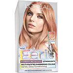L'Oréal Feria Multi-Faceted Shimmering Colour 822 Rose Gold (Medium Iridescent Blonde)