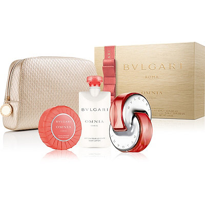 BvlgariOnline Only Omnia Coral Gift Set