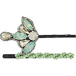 Mint Bobby Pin Set