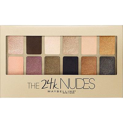 MaybellineThe 24K Nudes Eyeshadow Palette