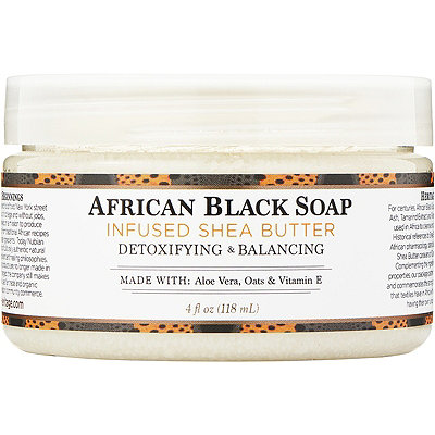 Nubian Heritage100%25 Organic Shea Butter Infused With African Black Soap