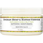 100%25 Organic Shea Butter Infused With Indian Hemp %26 Haitian Vetiver