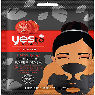 Yes to Detoxifying Charcoal Paper Mask