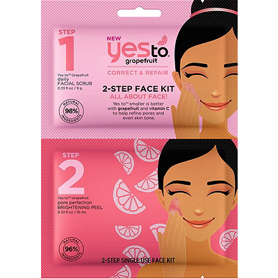 Yes to Grapefruit 2-Step Face Kit All About Face%21