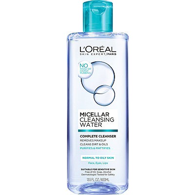 L'Oréal Micellar Cleansing Water Complete Cleanser Normal%2FOily Skin