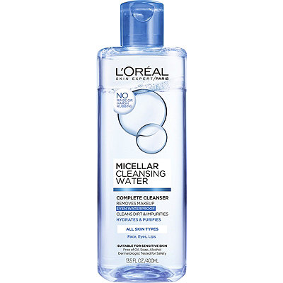 L'OréalMicellar Cleansing Water Complete Cleanser