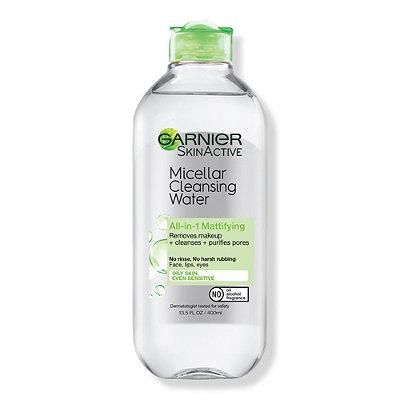 GarnierSkinActive Micellar Cleansing Water All-in-1 Mattifying