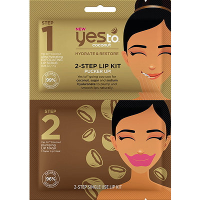 Yes to Coconut 2-Step Lip Kit Pucker Up%21