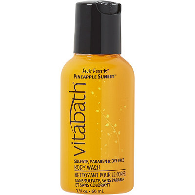 Vitabath Travel Size Pineapple Sunset Body Wash