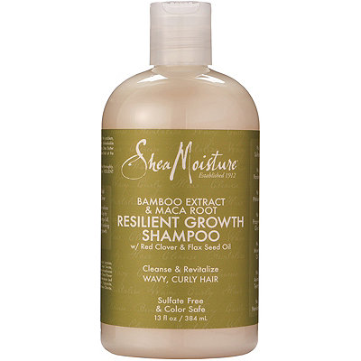 SheaMoisture Bamboo %26 Maca Root Resilient Growth Shampoo