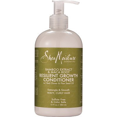 SheaMoisture Bamboo %26 Maca Root Resilient Growth Conditioner