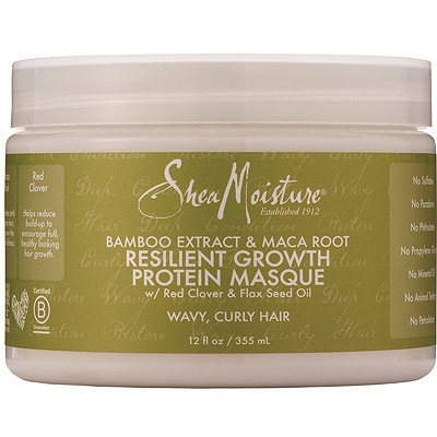 SheaMoisture Bamboo %26 Maca Root Resilient Growth Protein Masque