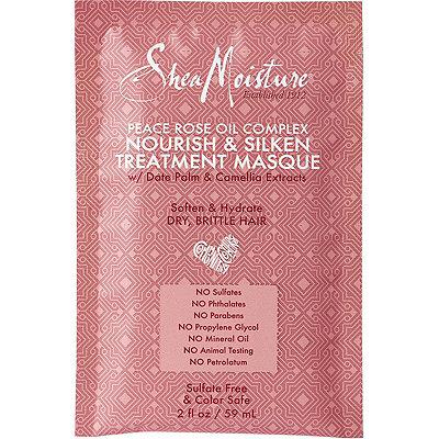 SheaMoisturePeace Rose Oil Complex Nourish %26 Silken Treatment Masque w%2FDate Palm %26 Camellia Extract