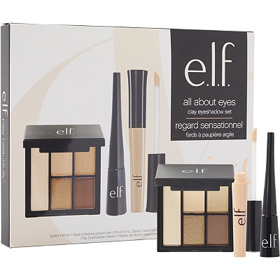 e.l.f. Cosmetics Online Only All About Eyes Clay Eyeshadow Set