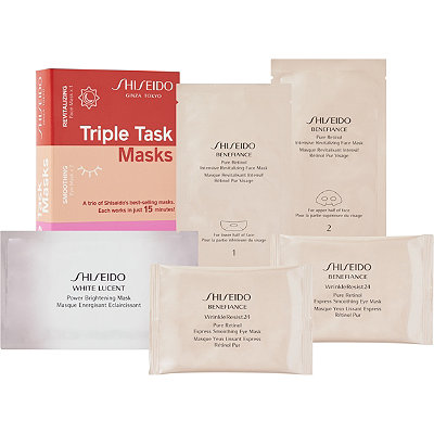 ShiseidoTriple Task Masks