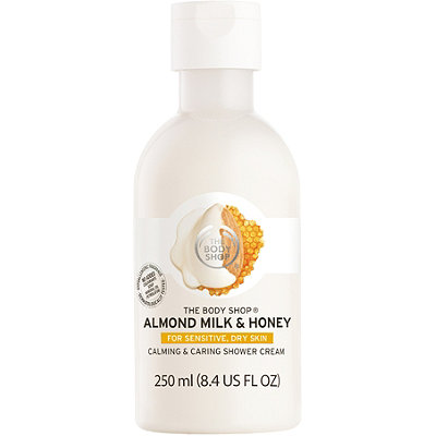 The Body Shop Almond Milk %26 Honey Soothing %26 Caring Shower Cream
