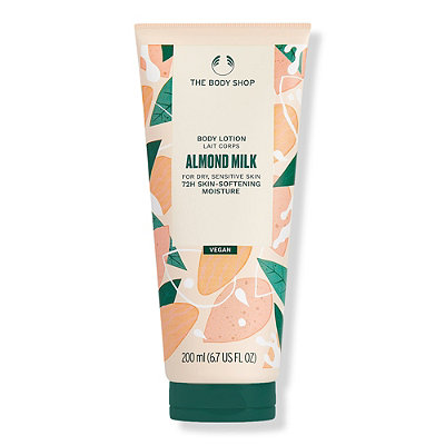 The Body Shop Almond Milk %26 Honey Soothing %26 Restoring Body Lotion