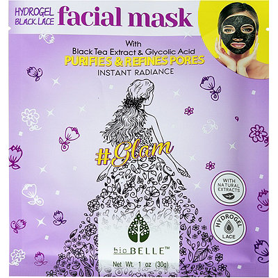 Biobelle Purifying Black Lace Hydrogel %23Glam Mask