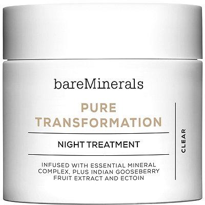 BareMineralsPure Transformation Night Treatment
