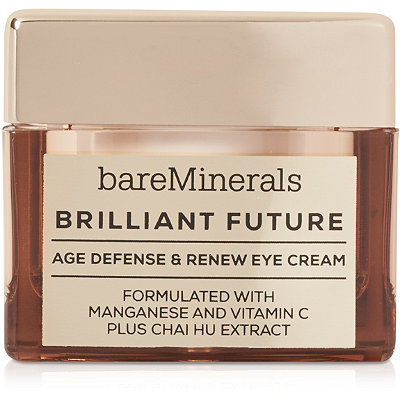 BareMinerals Brilliant Future Age Defense %26 Renew Eye Cream