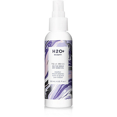 H2O Plus On The Move Dry Body Oil Teak Rose