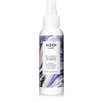 H2O PlusOn The Move Dry Body Oil Teak Rose
