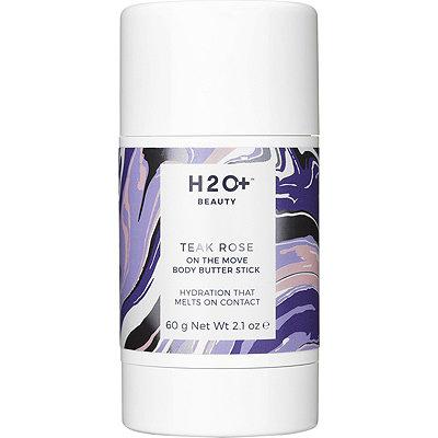 H2O PlusOn the Move Body Butter Stick Teak Rose