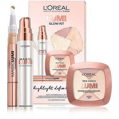 L'Oréal Online Only True Match Lumi Face Kit