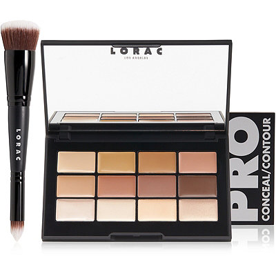 Lorac PRO Conceal%2FContour Palette and Brush