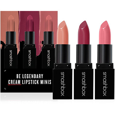Smashbox Be Legendary Cream Lipstick Minis