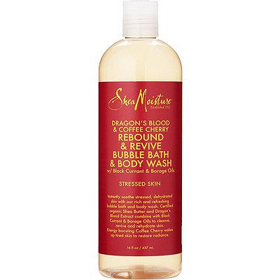 SheaMoistureDragons Blood %26 Coffee Cherry Rebound %26 Revive Bubble Bath %26 Body Wash