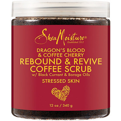 SheaMoisture Dragon%27s Blood %26 Coffee Cherry Rebound %26 Revive Coffee Scrub