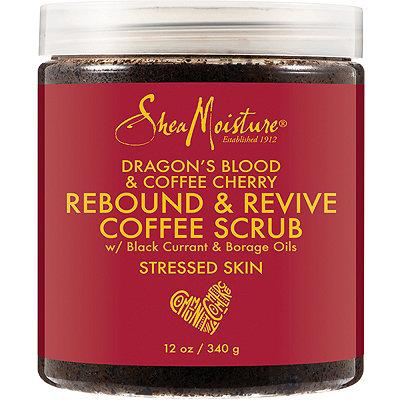 SheaMoistureDragon%27s Blood %26 Coffee Cherry Rebound %26 Revive Coffee Scrub