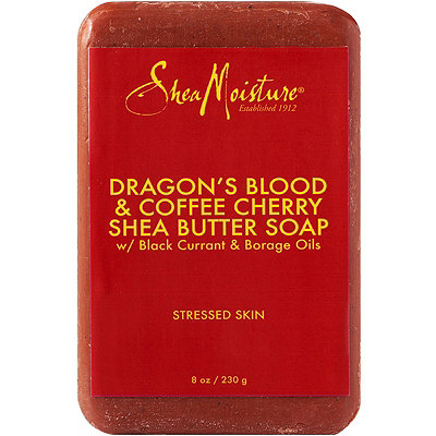Dragon's Blood & Coffee Cherry Shea Butter Soap