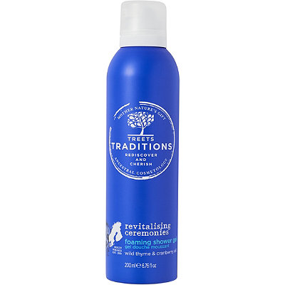Treets Traditions Revitalising Ceremonies Foaming Shower Gel