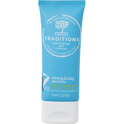 Treets Traditions Energising Ceremonies Hand Cream Spf15
