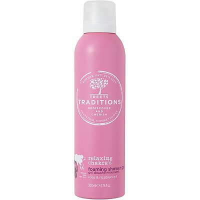 Treets TraditionsRelaxing Chakra's Foaming Shower Gel