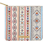 Vibrant Tribal Clutch Print