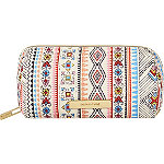 Vibrant Tribal Pencil Case Print
