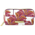 Coral Palm Pencil Case Print