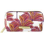 Coral Palm Pencil Case Print