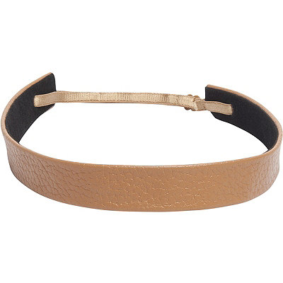 Fromm 1907 Pebbled Leather Wide Headband