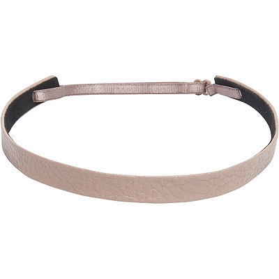 Fromm 1907 Pebbled Leather Skinny Headband